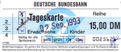 FVV 3-Tageskarte der DB (Scan: S.Kyrieleis)