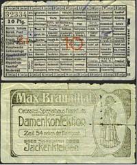 Frankfurter Fahrschein um 1910 (Scan: L.Kubera)