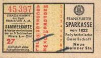 Fahrschein aus den 50er Jahren (Scan: Andreas Allspach)