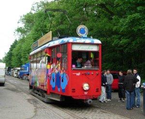 K-Wagen 107 am 17.05.2005 im Einsatz als