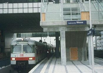 Frankfurt Messe S Bahn