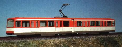 Kleinserienmodell des Stadtbahnwagens Typ U3 (Foto: Sammlung W.Mönch)