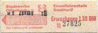 Offenbacher Einzelfahrschein 1980 (Scan: G.Wenzl)