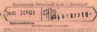 Sammelkarte Offenbach 1980 (Scan: G.Wenzl)