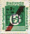 Schüler-Monatsmarke Februar 1973 für bis zu 2 Teilstrecken (Scan: G.Wenzl)