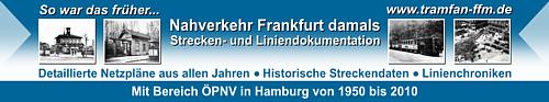 Banner der Webseite tramfan-ffm.de