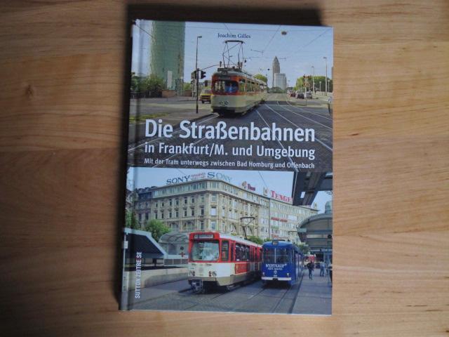 """Titelblatt des Buches """"Die Straßenbahnen in Frankfurt/M. und Umgebung"""""""