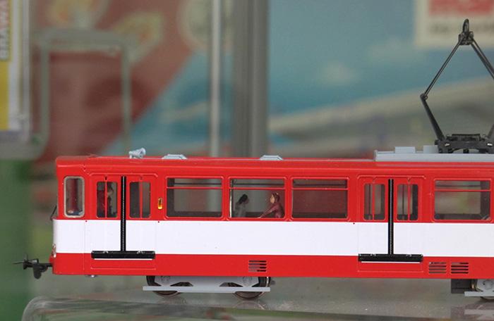 Modell des Stadtbahnwagen Typ U2 von Hamann